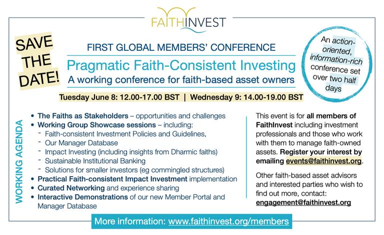 FaithInvest eventevent_2103182