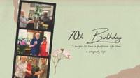 Le 70ème anniversaire du Président